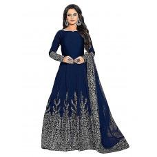 Silk Anarkali Gown